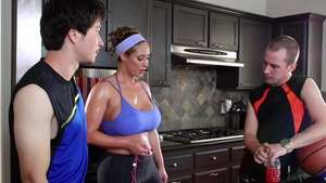 latina tries bbc first time