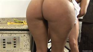 thick ass red head rides cock